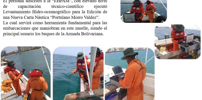 Levantamiento Hidrográfico  Morro-Valdez